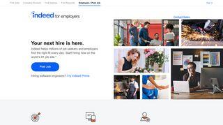 Post a Job | Indeed.com