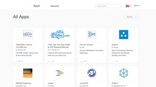 QuickBooks App Store   View All Accounting Apps - Intuit