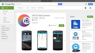 IRCTC Rail Connect - Apps on Google Play