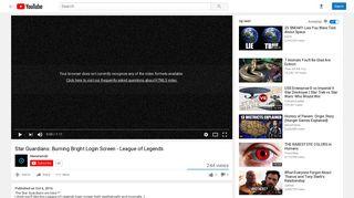 Star Guardian Jinx Login Screen - League of Legends - YouTube