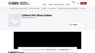 Littlest Pet Shop Online - IGN.com
