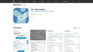 Caf - Mon Compte on the App Store - iTunes - Apple
