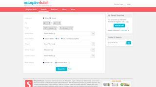 Partner Search - Malayalee Shaadi