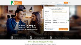 Kerala Matrimony - The No. 1 Matrimony Site for Malayalis ...
