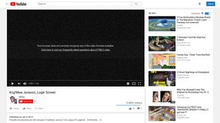 Kog'Maw Jurassic, Login Screen - YouTube