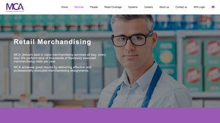 Retail Merchandising - Merchandising Consultants Associates