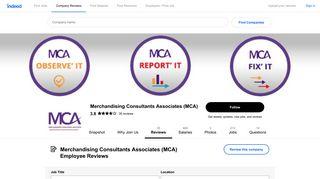 Working at Merchandising Consultants Associates (MCA): Employee ...