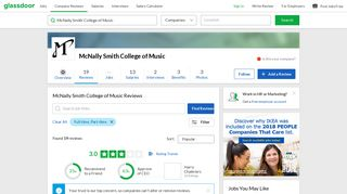 McNally Smith College of Music Reviews | Glassdoor