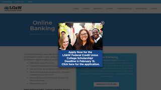 Online and Mobile Banking - LG&W Federal Credit Union