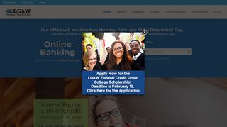 LG&W Federal Credit Union - Home
