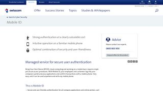 Mobile ID: Managed service for secure user authentication by mobile ...