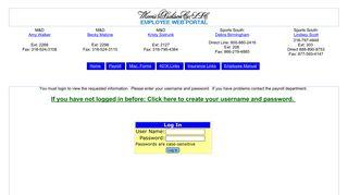 Morris & Dickson Employee Web Portal