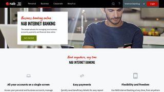 NAB business Internet banking - business banking online - NAB