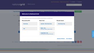 Your account profile sign-in - National Grid