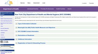 New York City Department of Health and Mental Hygiene (NYC ...