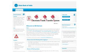 State Bank Of India, Bahrain - Online SBI Global