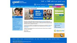 Staff - Peel District School Board