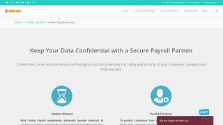 Online Payroll Software with User Security & Confidentiality - Brio ...