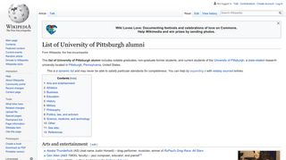 List of University of Pittsburgh alumni - Wikipedia