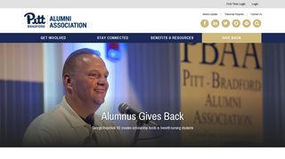 Login/Logout - Pitt-Bradford Alumni Association - Login