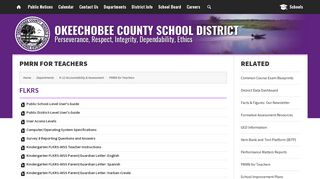 PMRN for Teachers - Okeechobee County School District