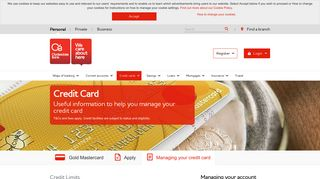 Your credit card account management | Clydesdale Bank