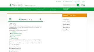 Patient Portal Registration - ProMedica