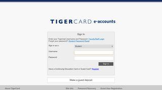 eAccounts Home - Blackboard