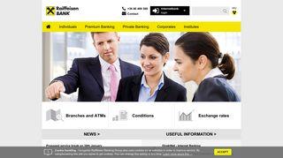 Home - Raiffeisen ENGLISH - Raiffeisen BANK