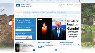 Raiffeisenbank Kocher-Jagst eG: Privatkunden