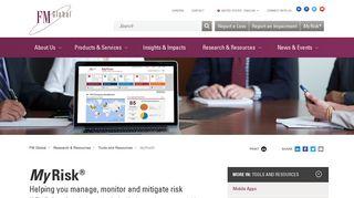MyRisk®: Secure Risk Assessment and Risk Analysis Tools – FM ...