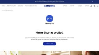 Samsung Pay: Mobile Payment App & Digital Wallet | Samsung US