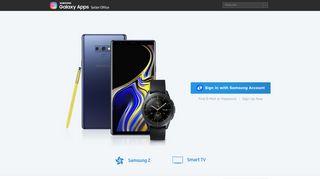 SAMSUNG Galaxy Apps Seller Office