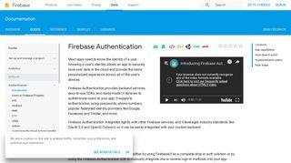 Firebase Authentication | Firebase