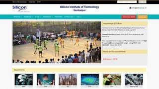Silicon Sambalpur - Silicon Institute of Technology