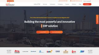 In4Velocity: Real Estate ERP software provider for your business