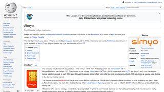 Simyo - Wikipedia