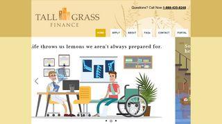 Tall Grass Finance: Short-Term Loan Lender