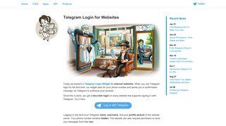 Telegram Login for Websites