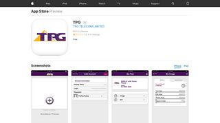 TPG on the App Store - iTunes - Apple