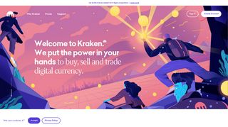 Kraken: Bitcoin & Cryptocurrency Exchange | Bitcoin Trading Platform