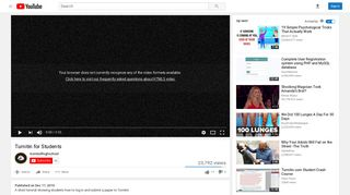 Turnitin for Students - YouTube
