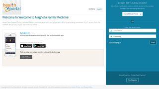 Patient Portal - Eclinicalweb.com