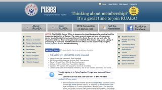 RUAEA: Retired United Airlines Employees Association