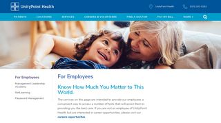 UnityPoint Health   For Employees