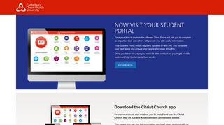 Now visit the portal - Canterbury Christ Church University