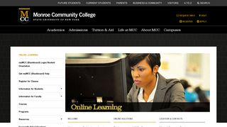 Online Learning | Monroe Community College | Rochester, NY