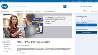 Kroger Prepaid Debit Card