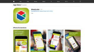 WestLotto on the App Store - iTunes - Apple