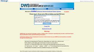 DWS - ArkNet Login